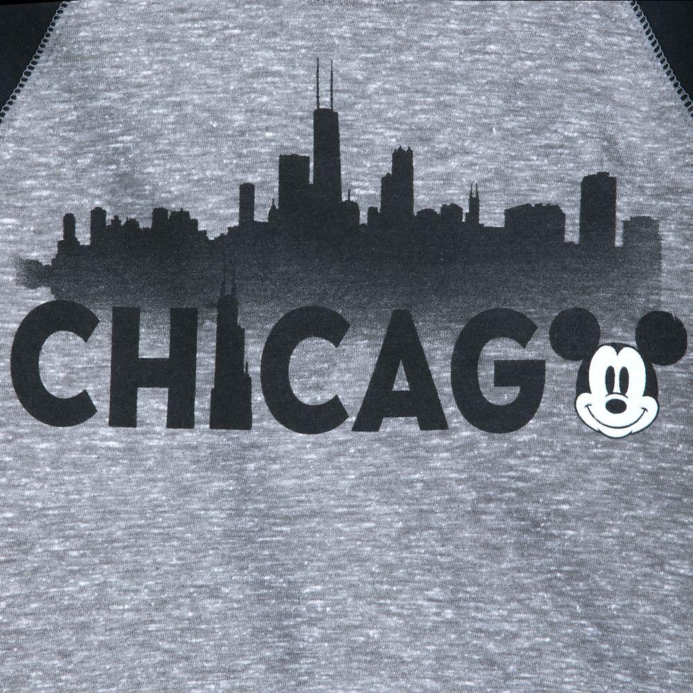 Mickey Mouse Chicago Raglan Shirt for Boys