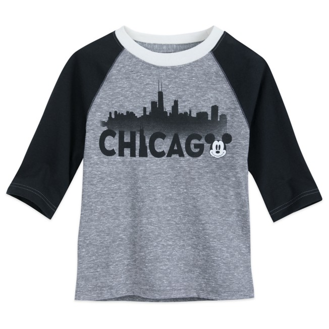 Mickey Mouse Chicago Raglan Shirt for Boys