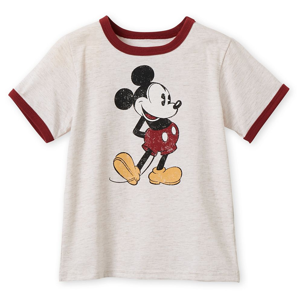Mickey Mouse Ringer T-Shirt for Boys