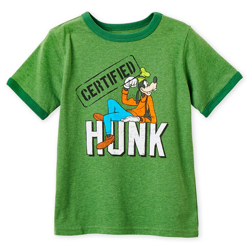 Goofy Ringer T-Shirt for Boys
