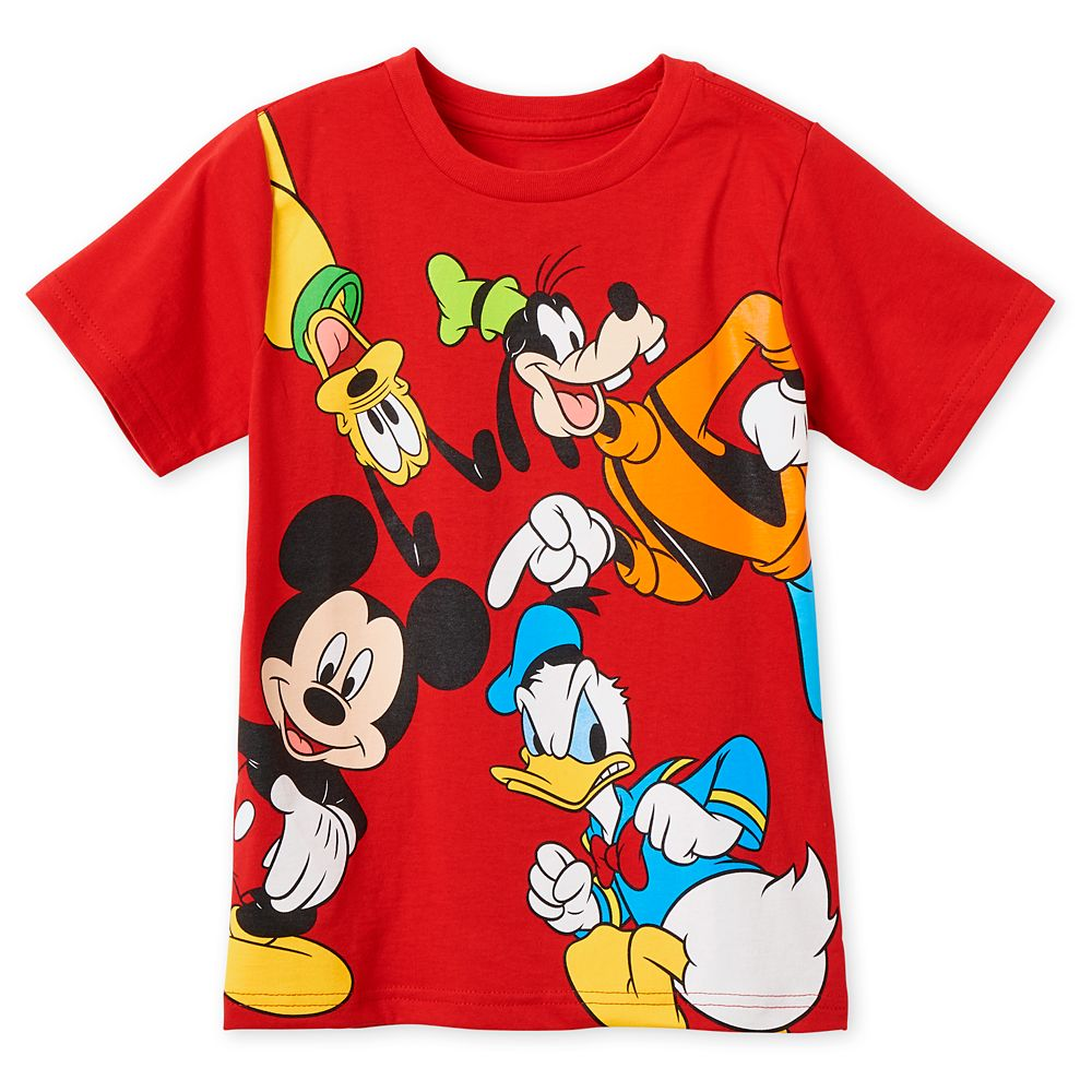Mickey Mouse and Friends T-Shirt for Boys Official shopDisney