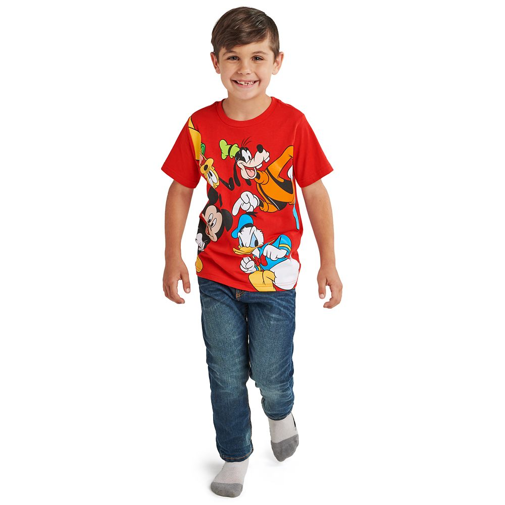 Mickey Mouse and Friends T-Shirt for Boys