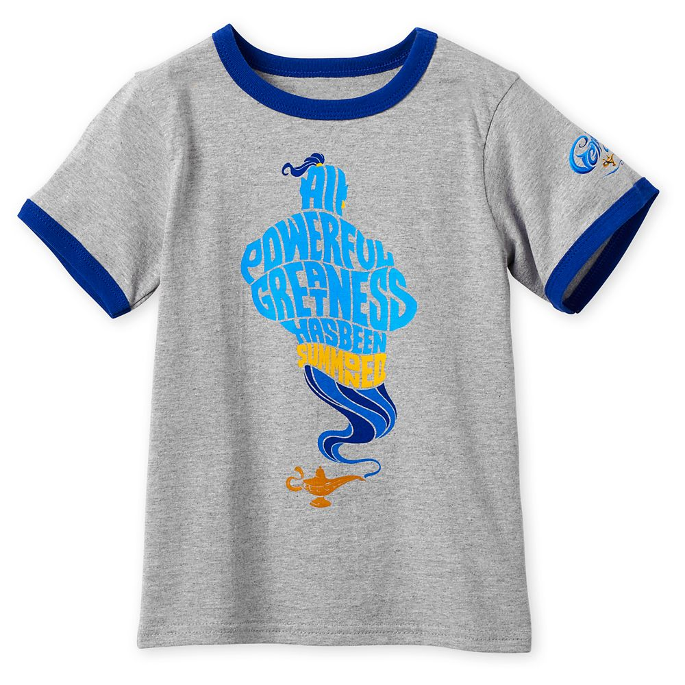 Genie Ringer T-Shirt for Boys – Aladdin – Live Action Film