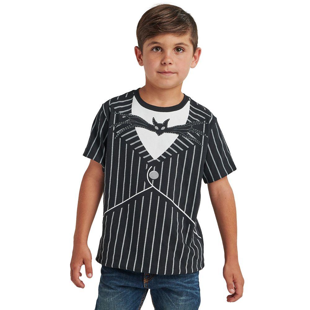 Jack Skellington Costume T-Shirt for Boys