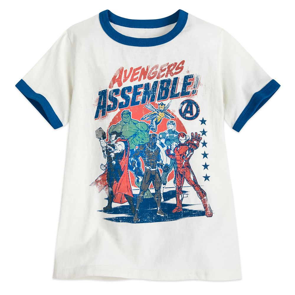 Avengers Ringer T-Shirt for Boys