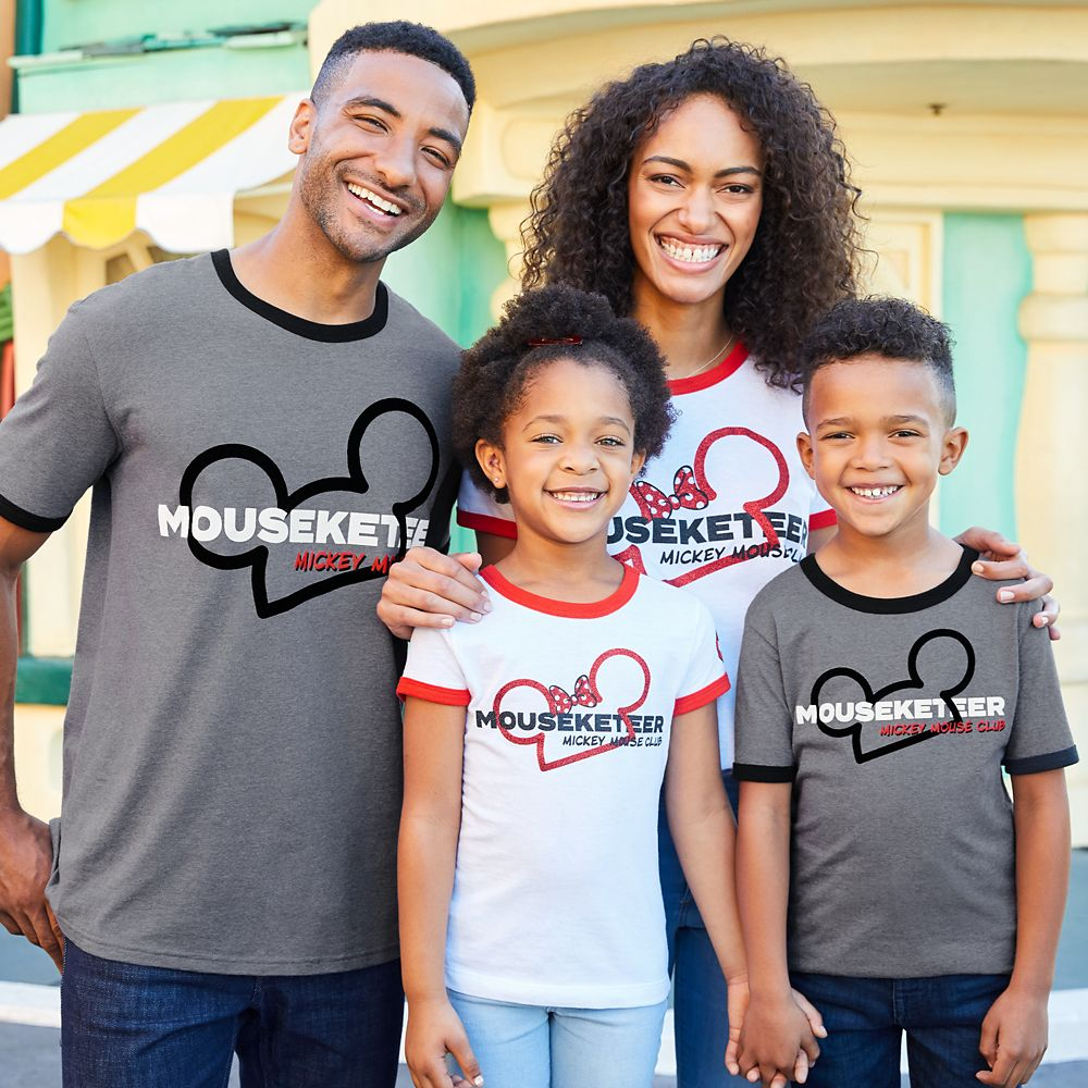 The Mickey Mouse Club Mouseketeer Ringer T-Shirt for Boys