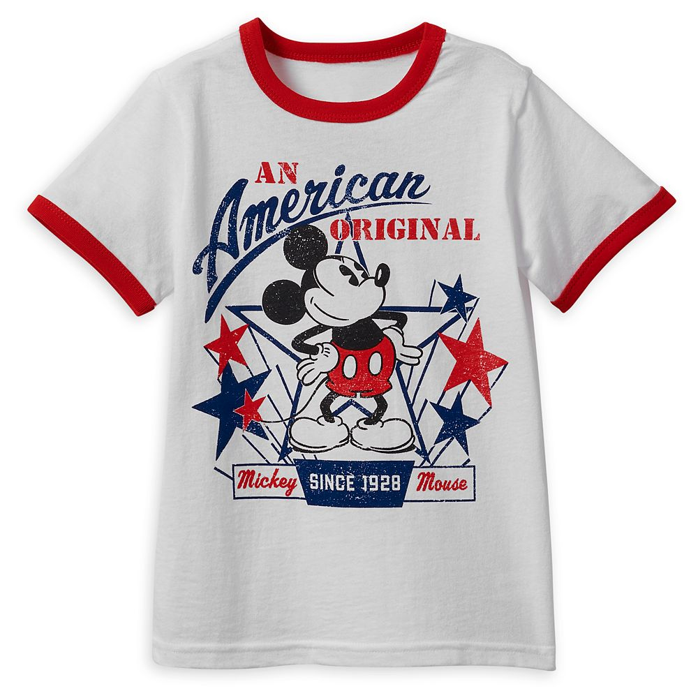 Mickey Mouse Americana T-Shirt for Boys