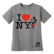 Mickey Mouse I♥ New York T-Shirt for Boys – New York City