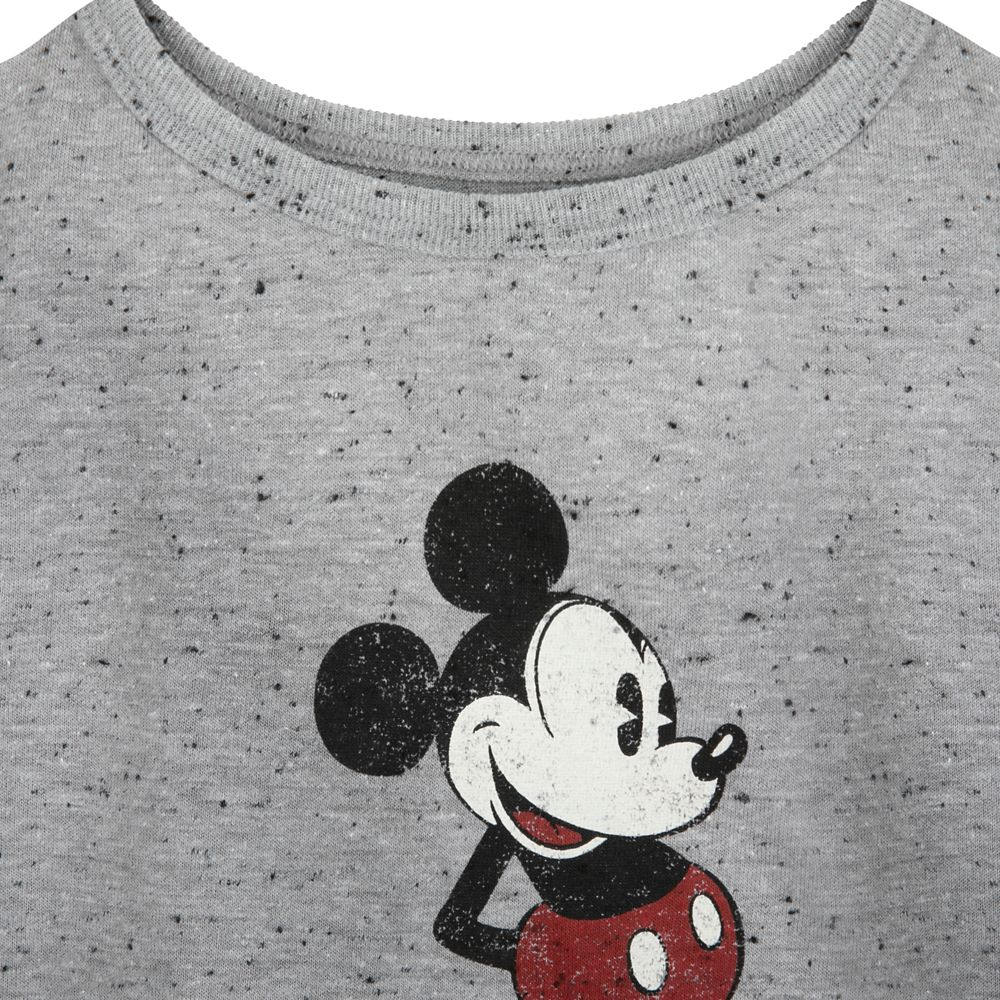 Mickey Mouse Classic T-Shirt for Kids – Gray – Sensory Friendly