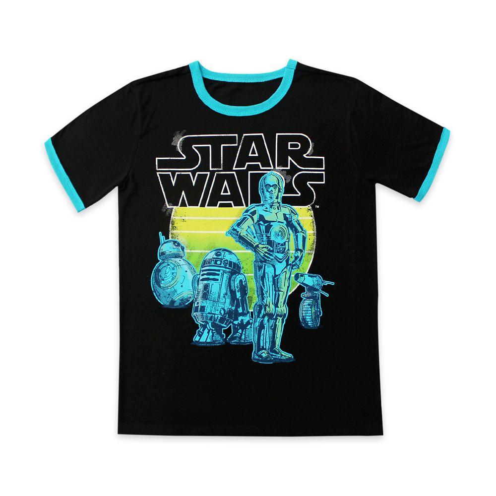 Droids Ringer T-Shirt for Boys – Star Wars