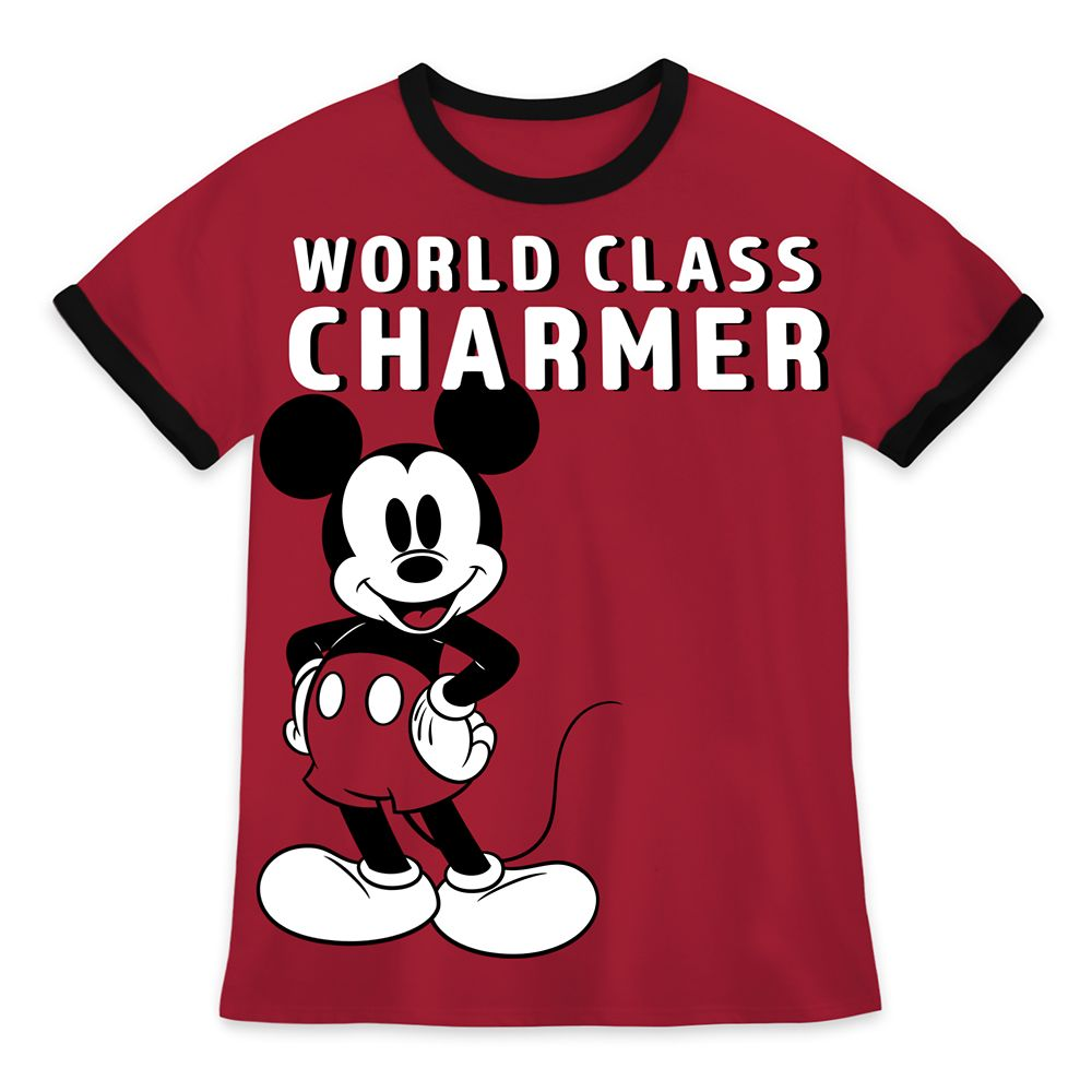 Mickey Mouse Valentine's Day Ringer T-Shirt for Boys Official shopDisney