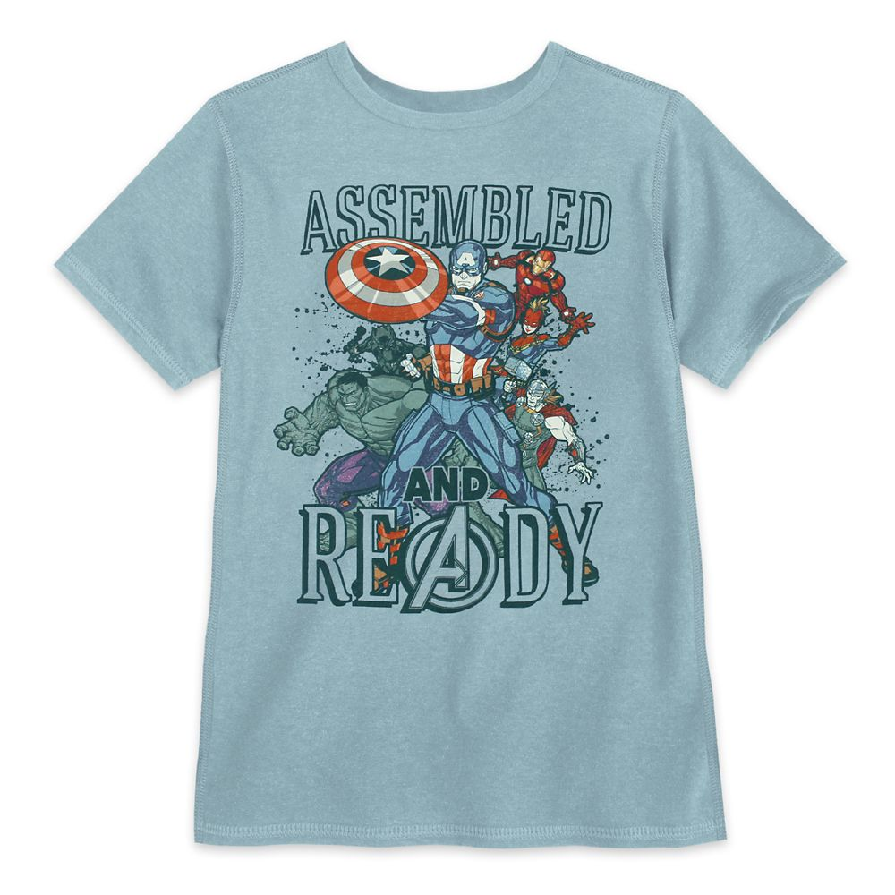 The Avengers T-Shirt for Boys – Sensory Friendly