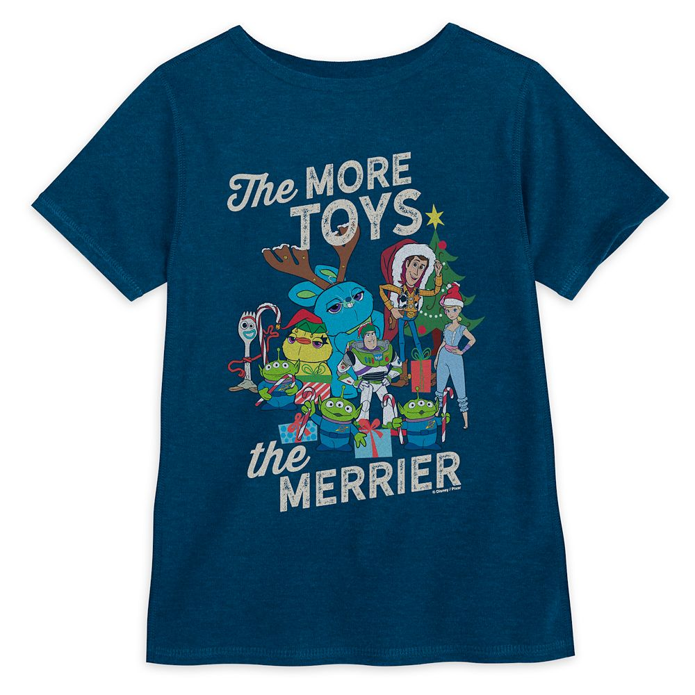Toy Story 4 Holiday T-Shirt for Kids – Sensory Friendly