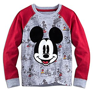 Mickey Mouse Long Sleeve Raglan Tee for Boys