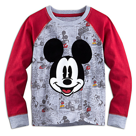 Mickey Mouse Long Sleeve Raglan Tee for Boys