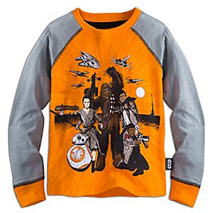 Star Wars: The Force Awakens Long Sleeve Raglan Tee for Boys