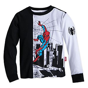 Spider-Man Long Sleeve T-Shirt for Boys 5622046392211M