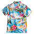 Mickey Mouse and Friends Hawaiian Shirt for Boys