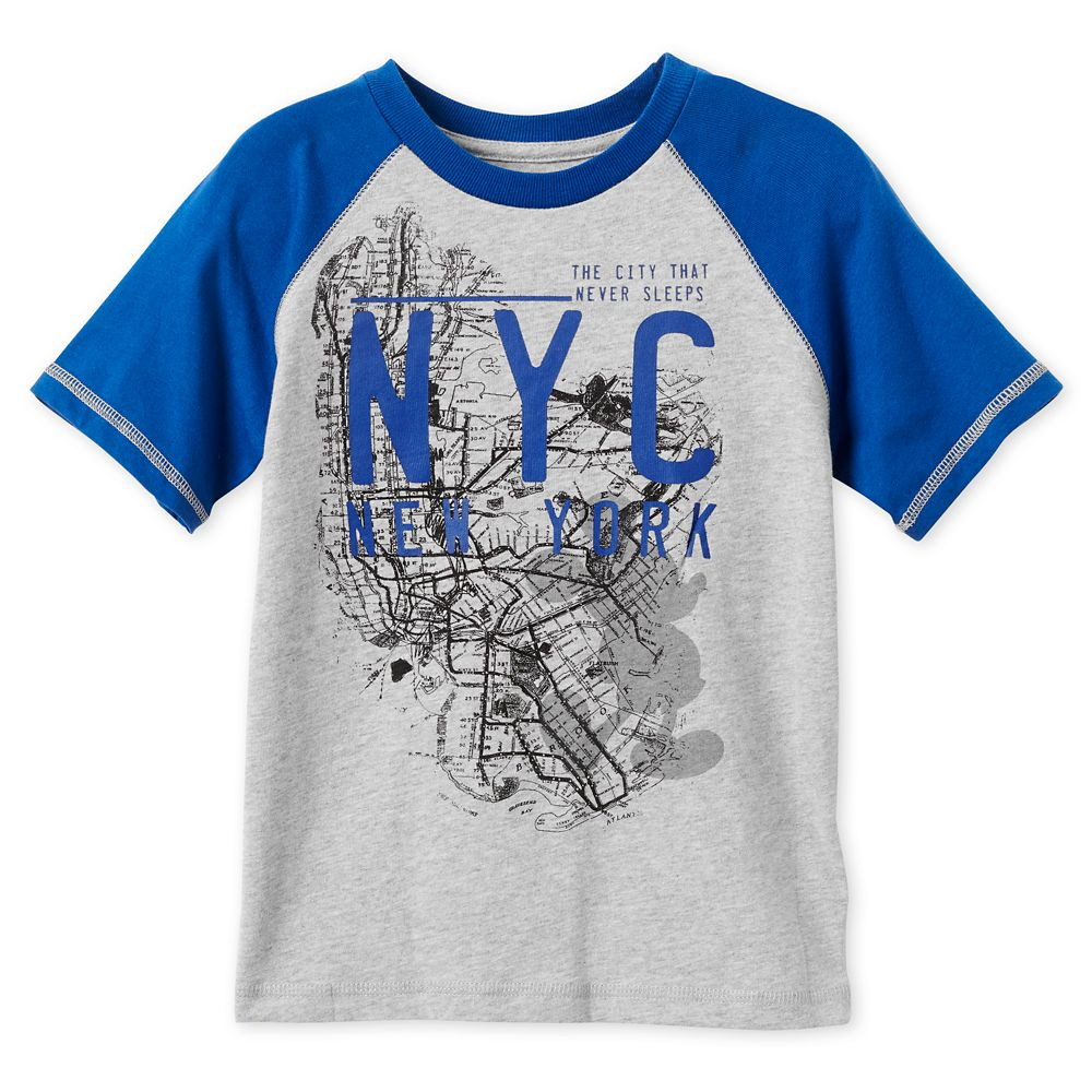 Mickey Mouse NYC Map T-Shirt for Boys – New York City