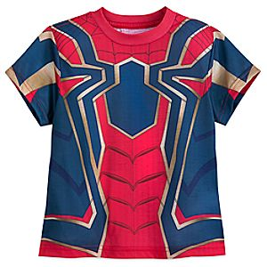 Iron Spider Costume T-Shirt for Boys - Marvel's Avengers: Infinity War 5622048022491M