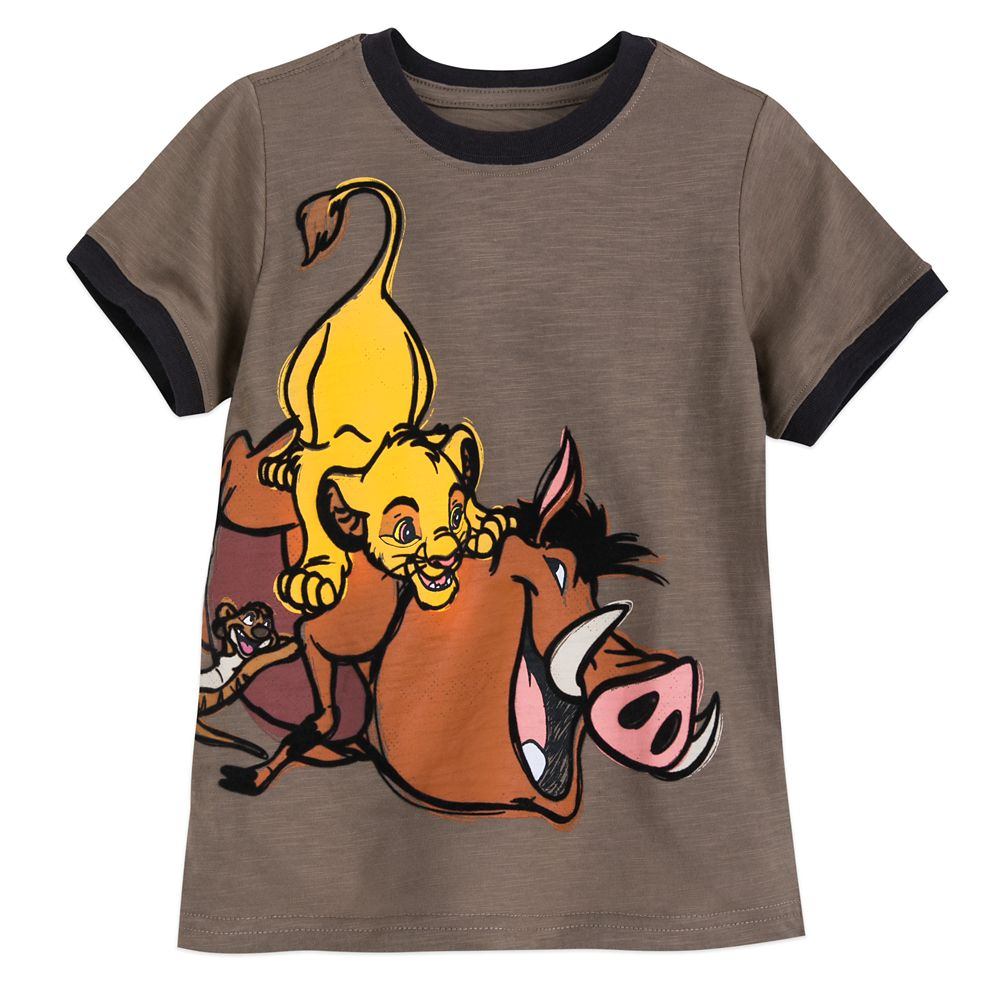 The Lion King Ringer T-Shirt for Boys