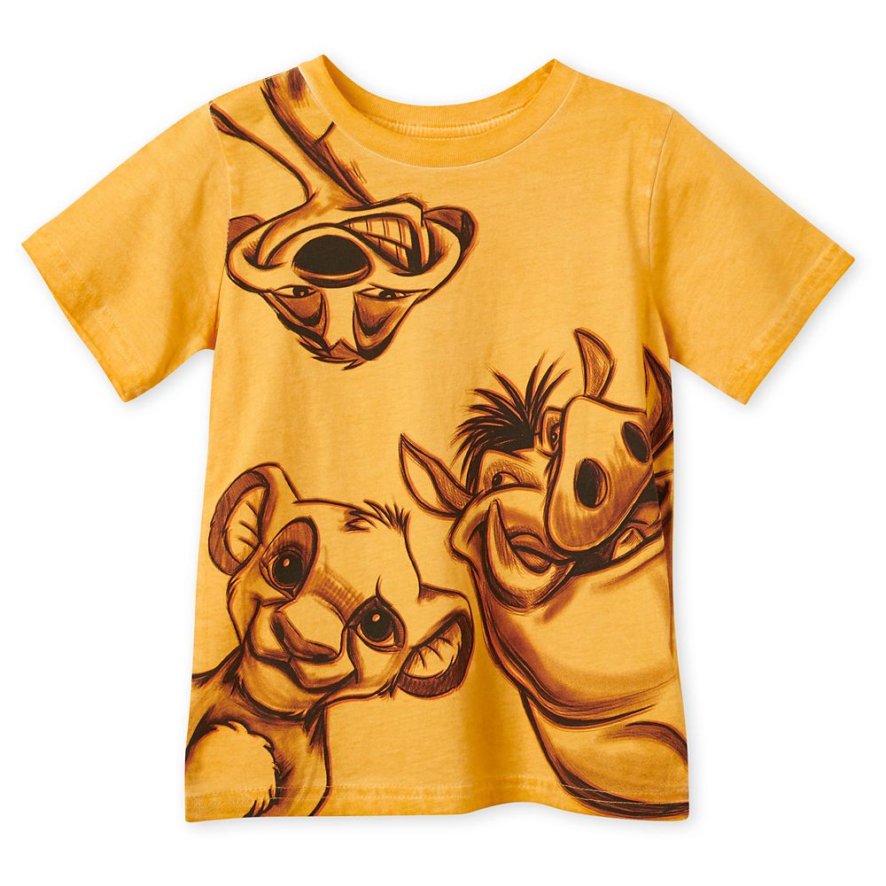Simba, Timon, and Pumbaa T-Shirt for Boys – The Lion King