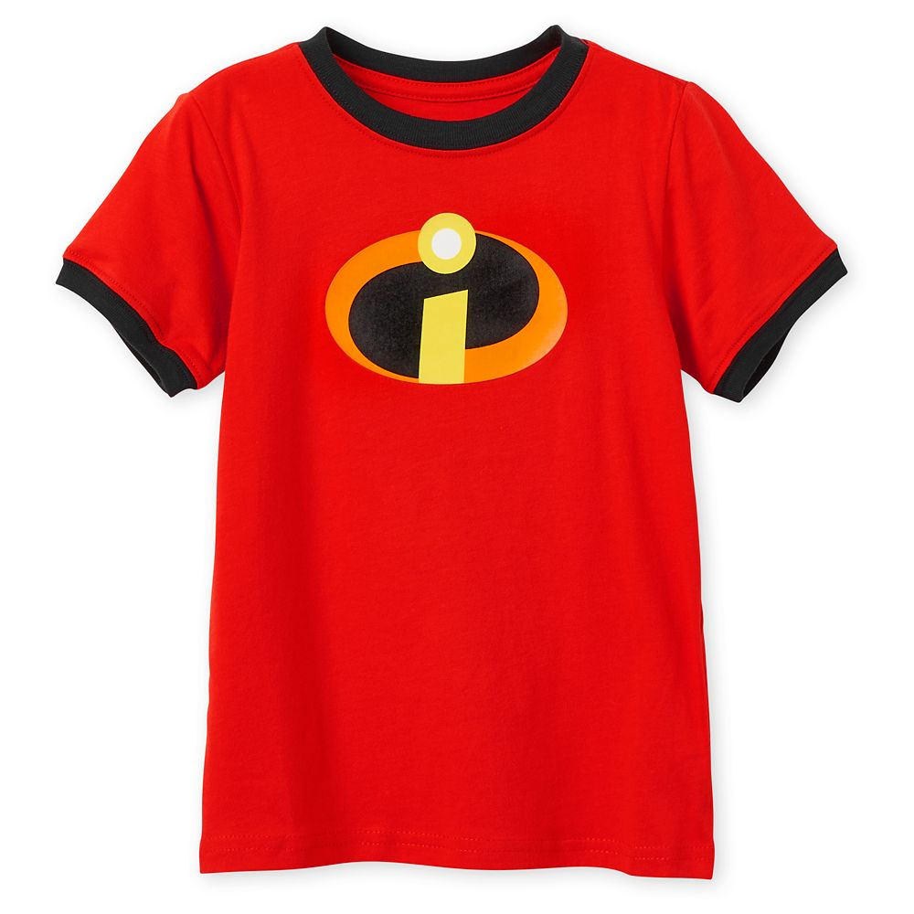 Incredibles Logo Ringer T-Shirt for Kids