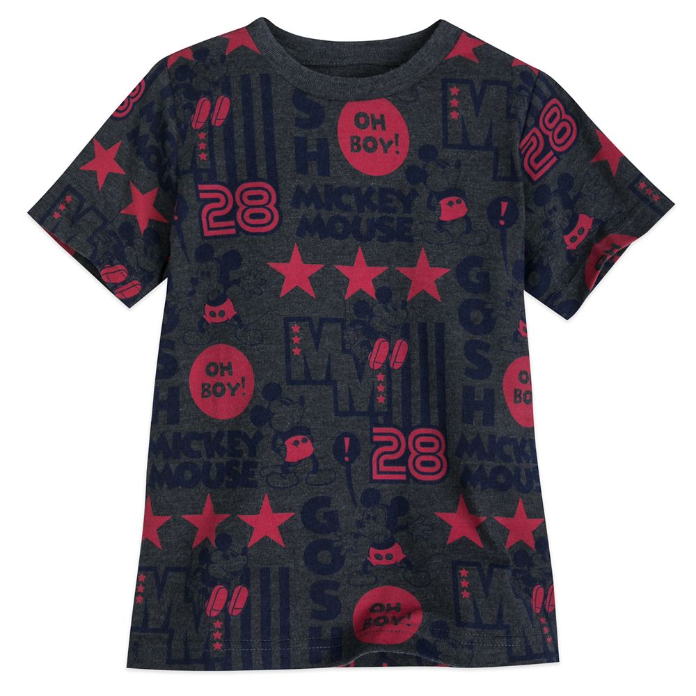 Mickey Mouse All-Star T-Shirt for Boys