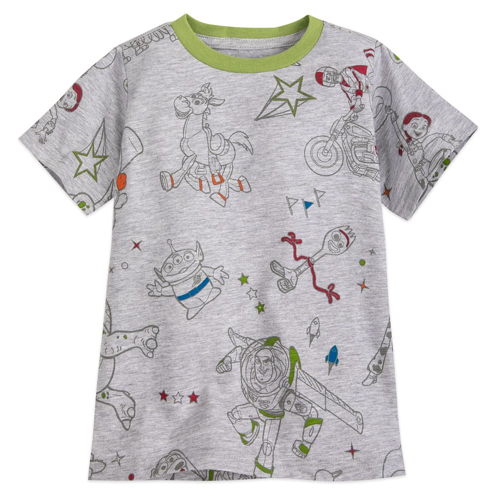 Toy Story 4 T-Shirt for Boys