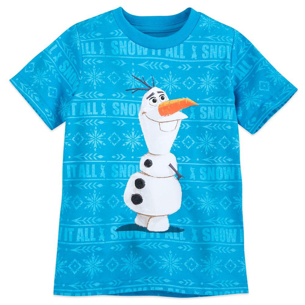 Olaf T-Shirt for Boys