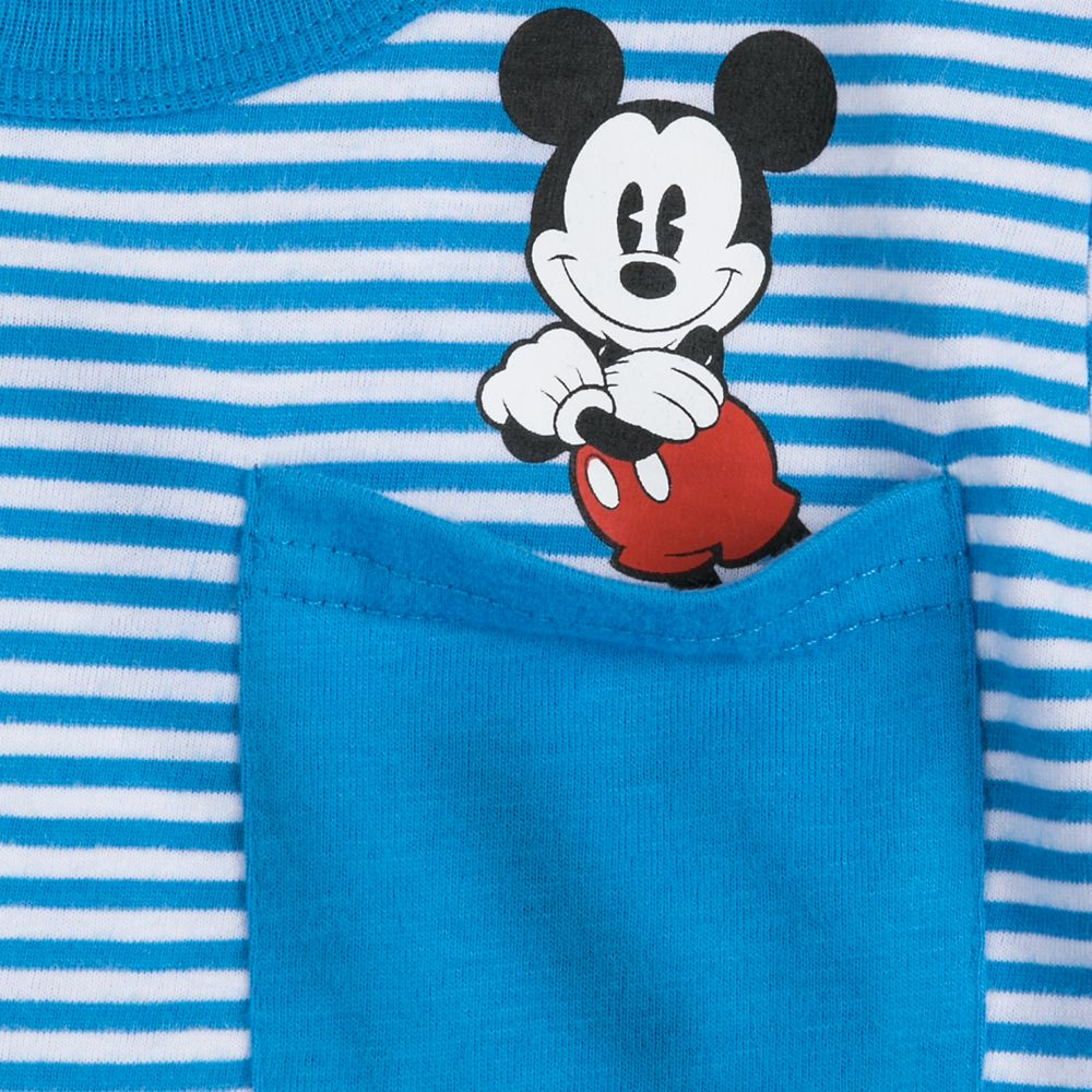 Mickey Mouse and Friends Pocket Ringer T-Shirt for Boys