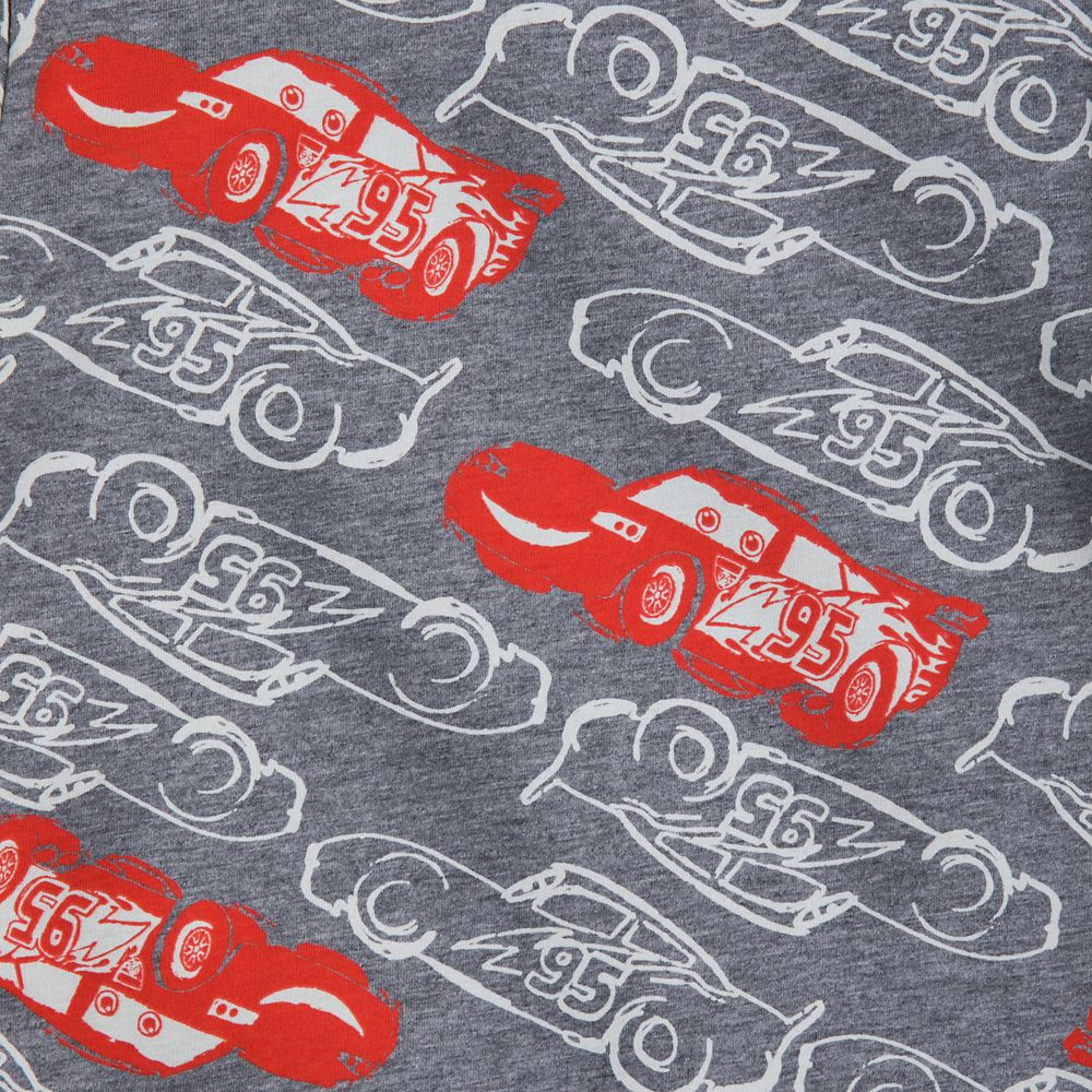 Lightning McQueen Print T-Shirt for Boys