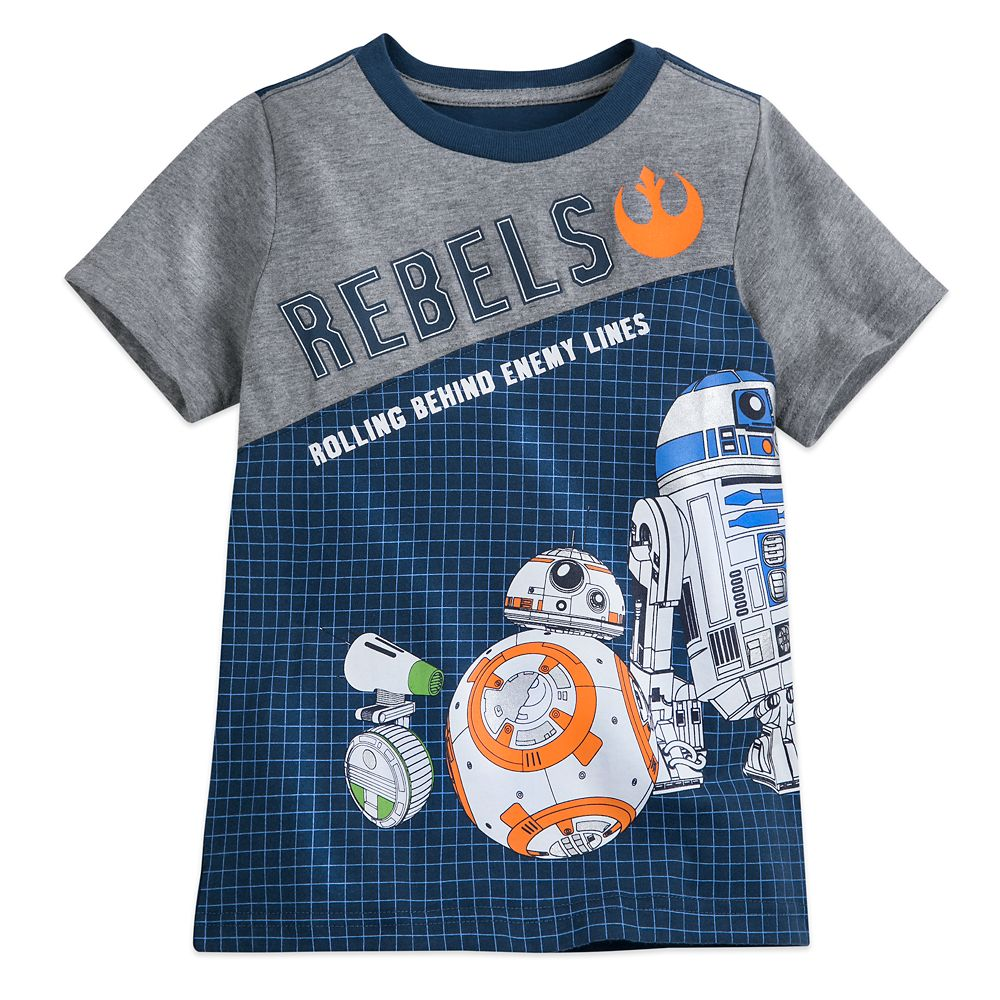 BB-8 and D-O Fashion T-Shirt for Kids – Star Wars: The Rise of Skywalker