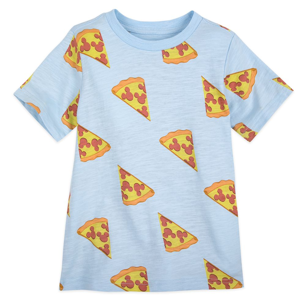 Mickey Mouse Pizza T-Shirt for Boys