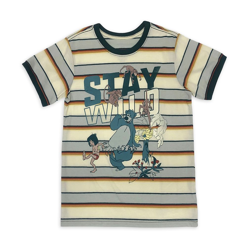 The Jungle Book Striped T-Shirt for Kids