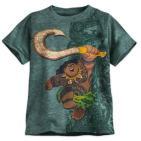 Maui Heathered Tee for Boys - Disney Moana