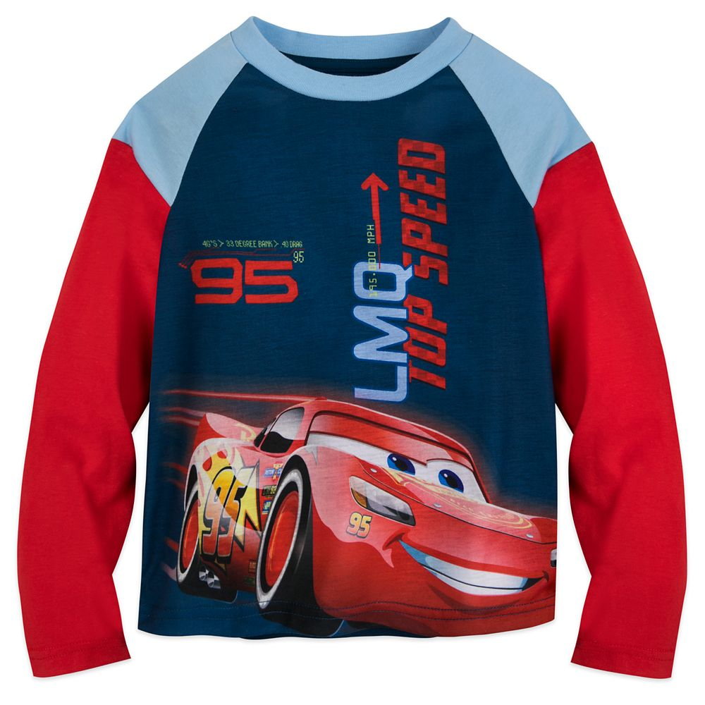 Lightning McQueen Long Sleeve T-Shirt for Boys