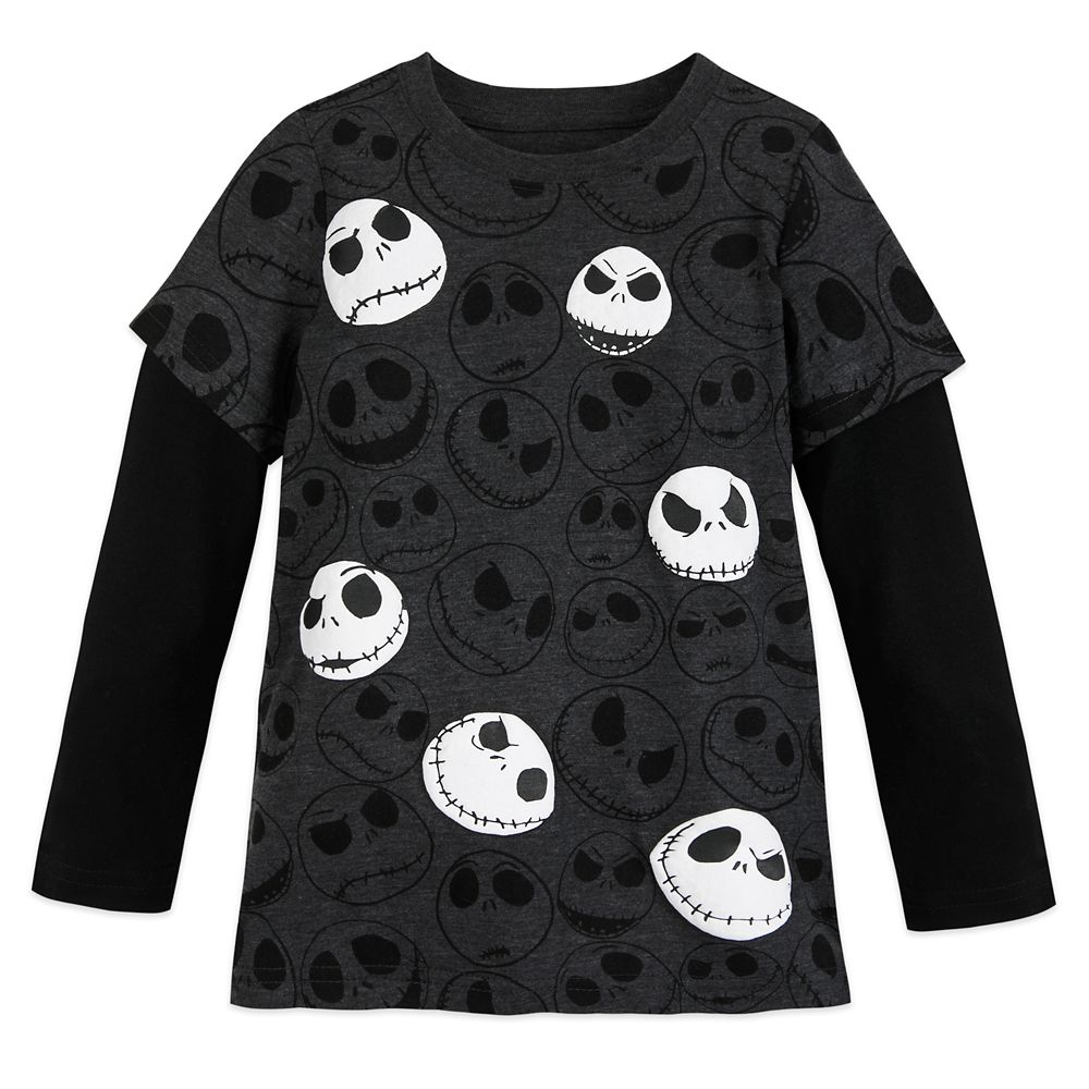 Jack Skellington Long Sleeve T-Shirt for Boys Official shopDisney