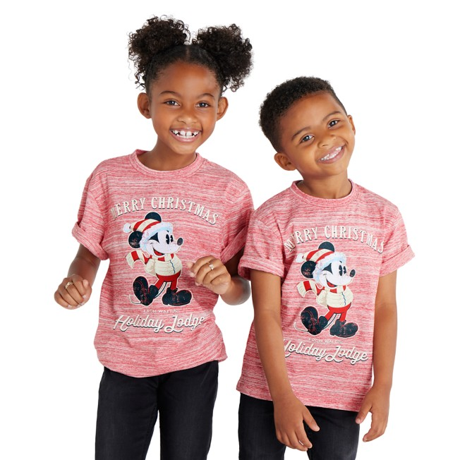 Mickey Mouse ''Merry Christmas'' T-Shirt for Kids
