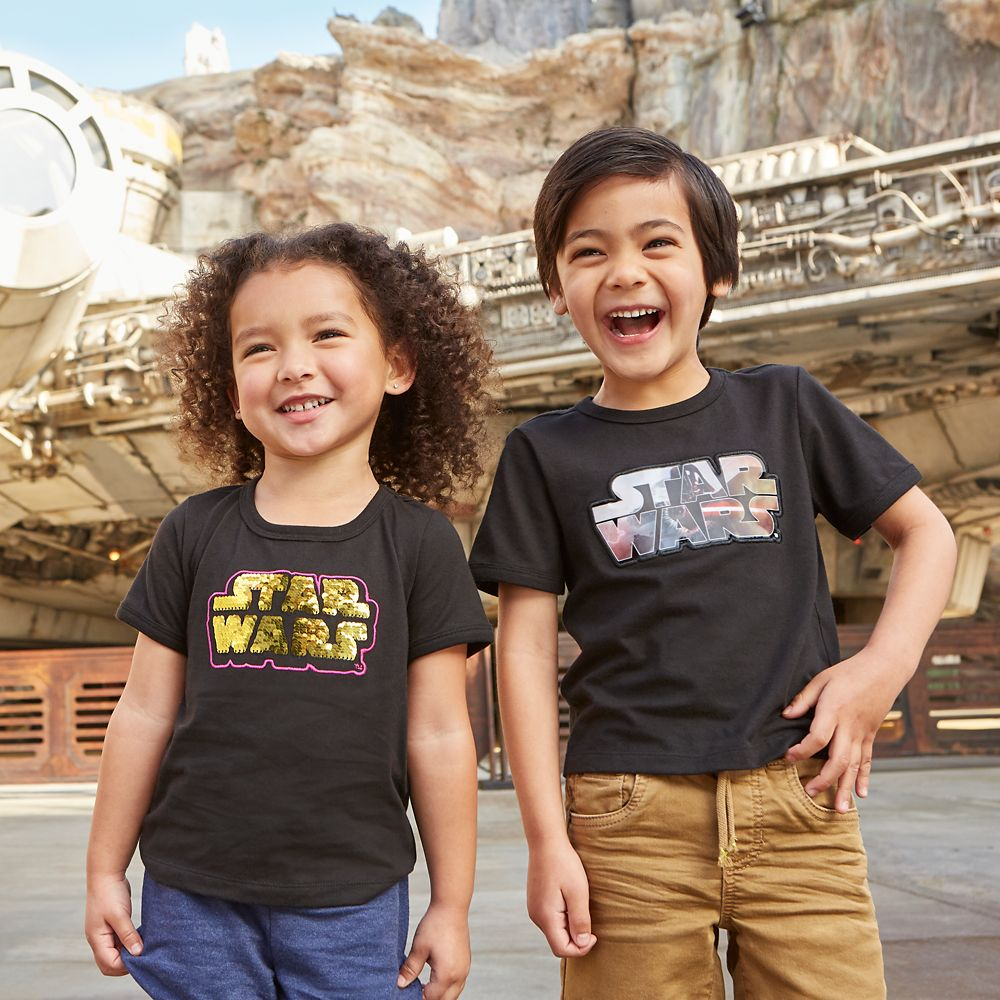 Star Wars Logo Lenticular T-Shirt for Boys