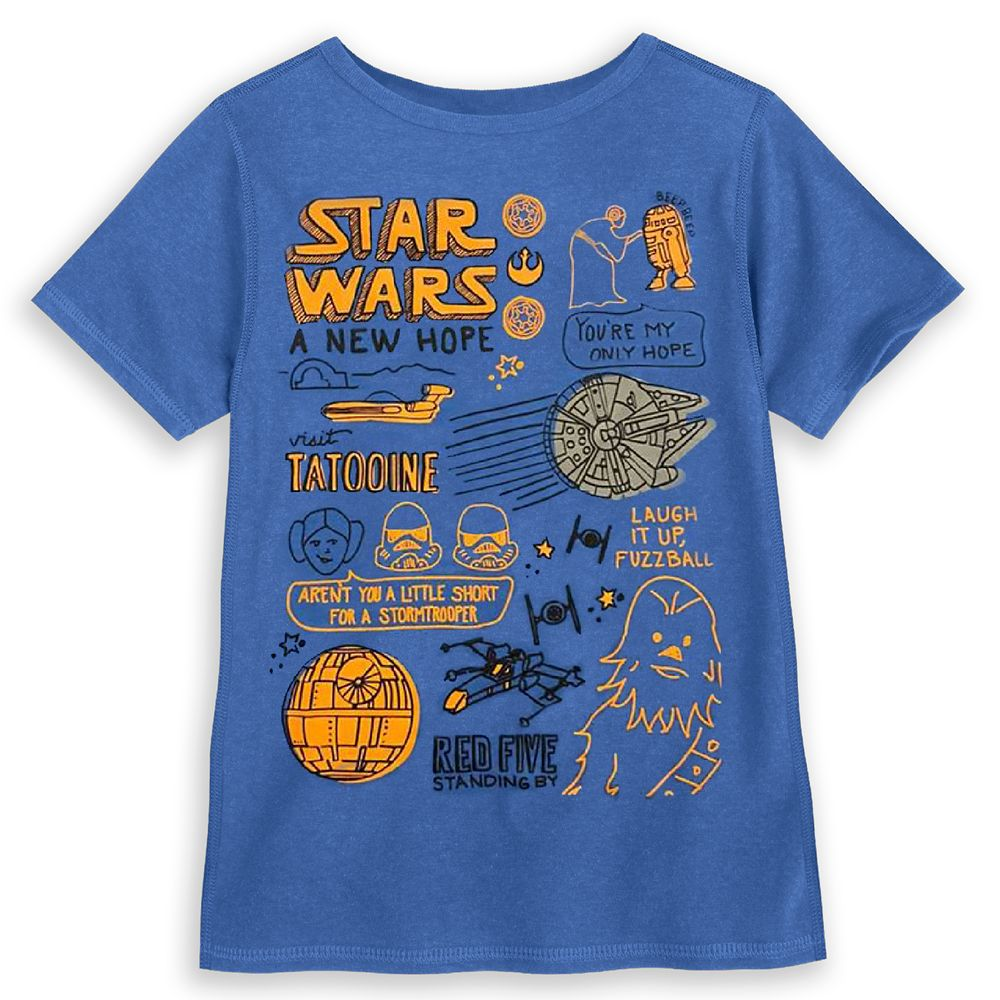 Star Wars: A New Hope T-Shirt for Boys – Sensory Friendly