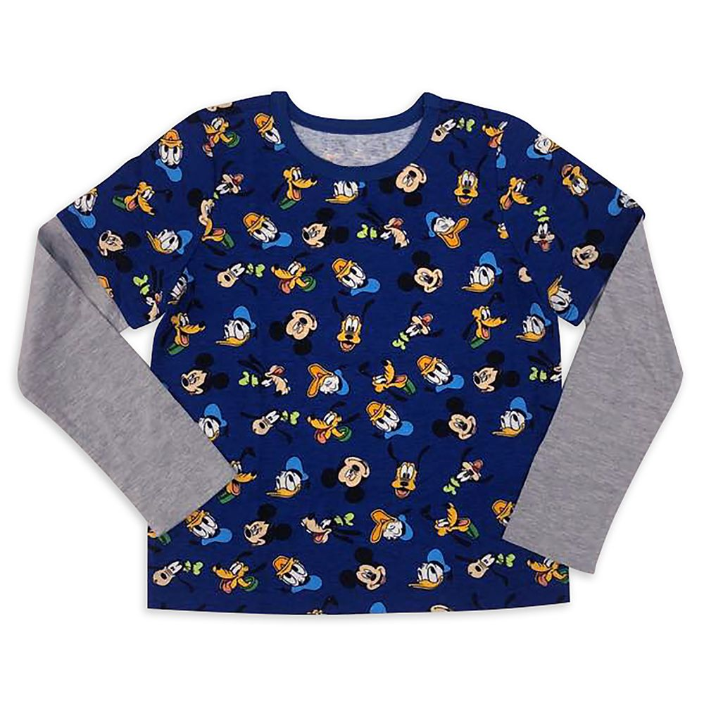 Mickey Mouse and Friends Long Sleeve T-Shirt for Kids