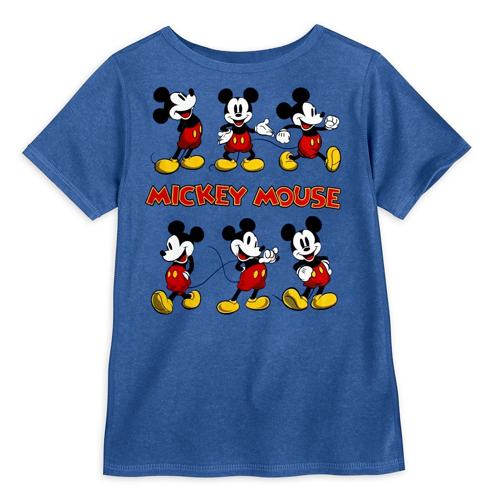 Mickey Mouse T-Shirt for Boys – Sensory Friendly