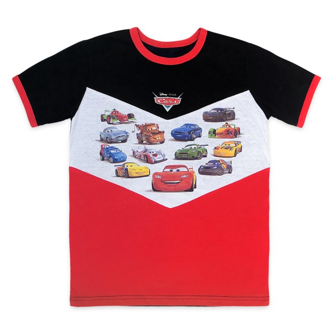 Cars Fashion Ringer T-Shirt for Kids