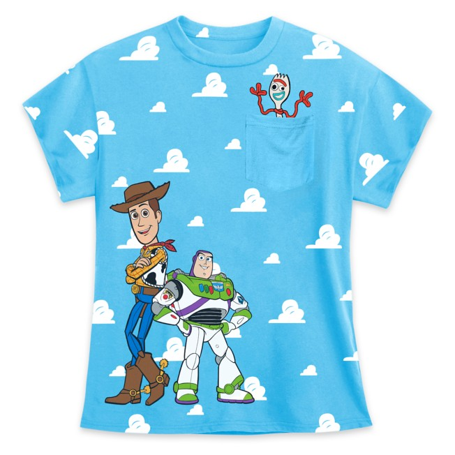 Toy Story Clouds Pocket Tee for Boys