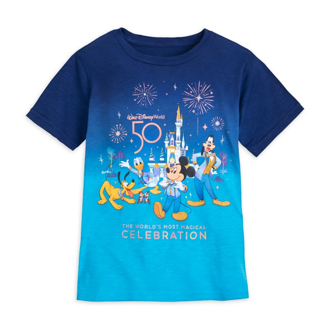 Mickey Mouse and Friends T-Shirt for Kids – Walt Disney World 50th Anniversary