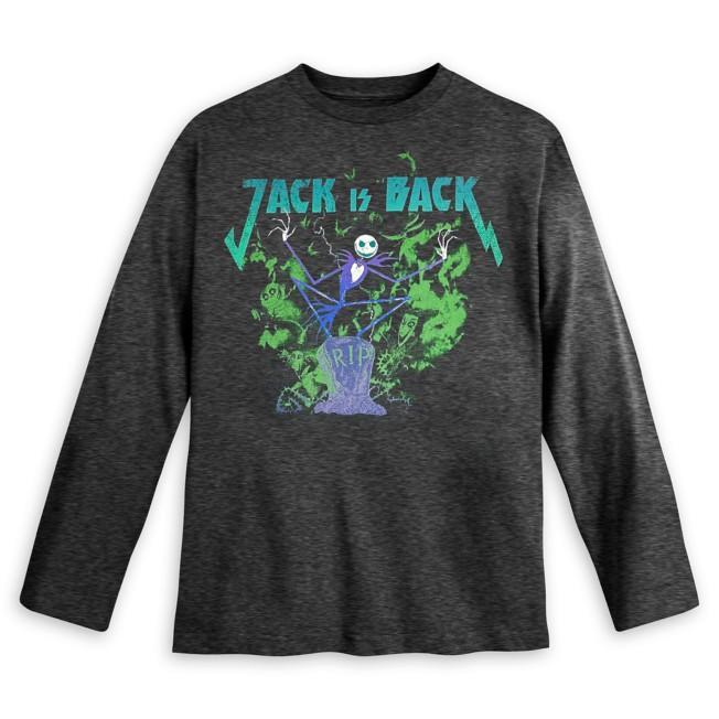Jack Skellington Long Sleeve T-Shirt for Kids – The Nightmare Before Christmas