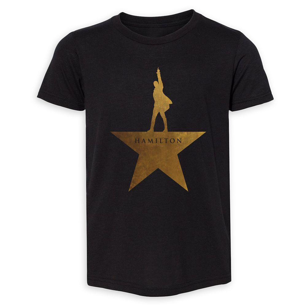 shopdisney.com - Hamilton Gold Star Logo T-Shirt for Kids Official shopDisney 29.99 USD