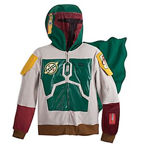 Boba Fett Interactive App Hoodie for Adults - Star Wars 5623040730731M
