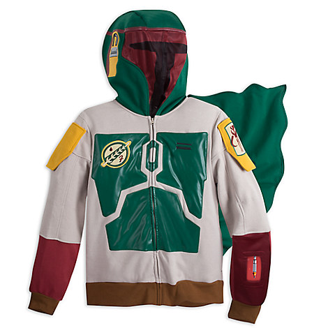 Boba Fett Interactive App Hoodie for Adults - Star Wars